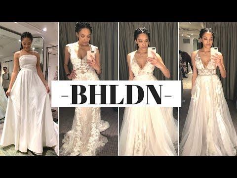 BHLDN: WEDDING DRESS TRY-ON