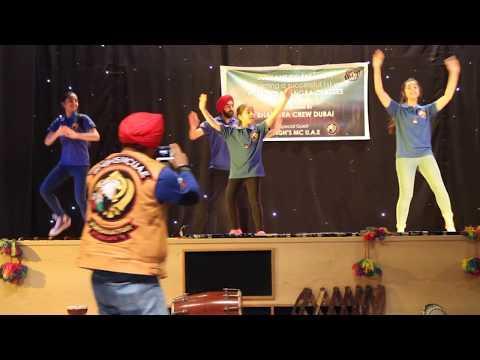 SINGH'S MC U.A.E performing @BhangraCrewDubai