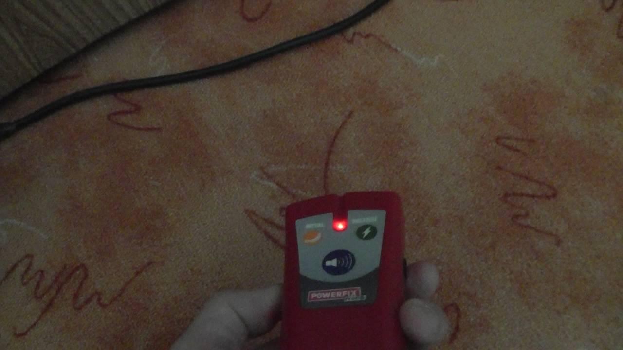multifunkční detektor powerfix lidl - youtube