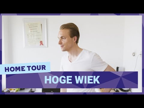Room tour by Christiaan in the Hoge Wiek | student housing in Rotterdam
