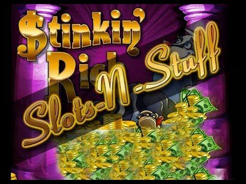 Stinkin Rich Massive Bonus Round 5x Re Trigger