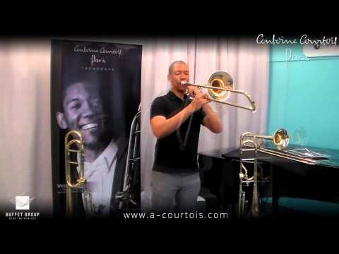Weston Sprott @ Dillon Music Antoine Courtois AC420 trombones
