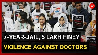 7-year-jail term, 5 lakh fine: IMA'S draft law for violence against doctors