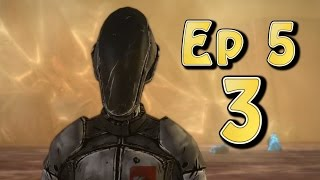 Tales From The Borderlands Ep 5 - Vault Of The Traveler Part 3 (Choice Path 1) August, Cassius, Zero