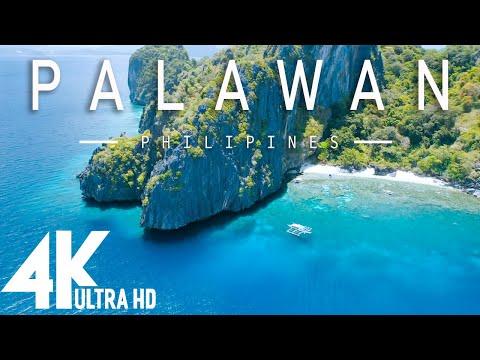4K Video - PALAWAN PHILIPINES - Relaxing music along with beautiful nature videos ( 4k Ultra HD )