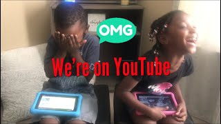 Reaction Video | twins see themselves for the first time on YouTube