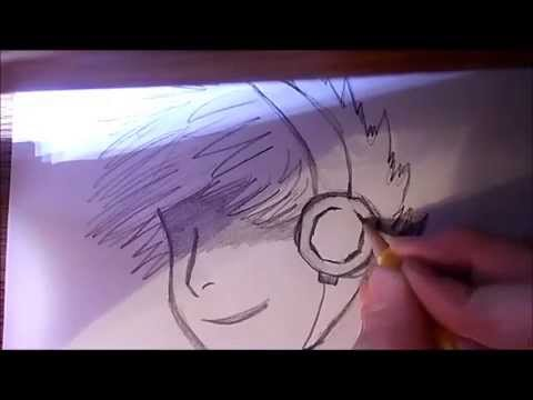 How To Draw Headphones And Detail On An Anime Character Youtube