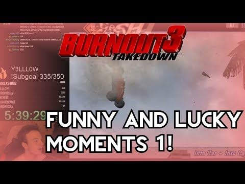 Funny And Lucky Moments - Burnout 3 Takedown