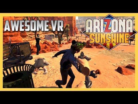 AMAZING VR - Co-op Zombie Adventure: Arizona Sunshine - GOOD STUFF!
