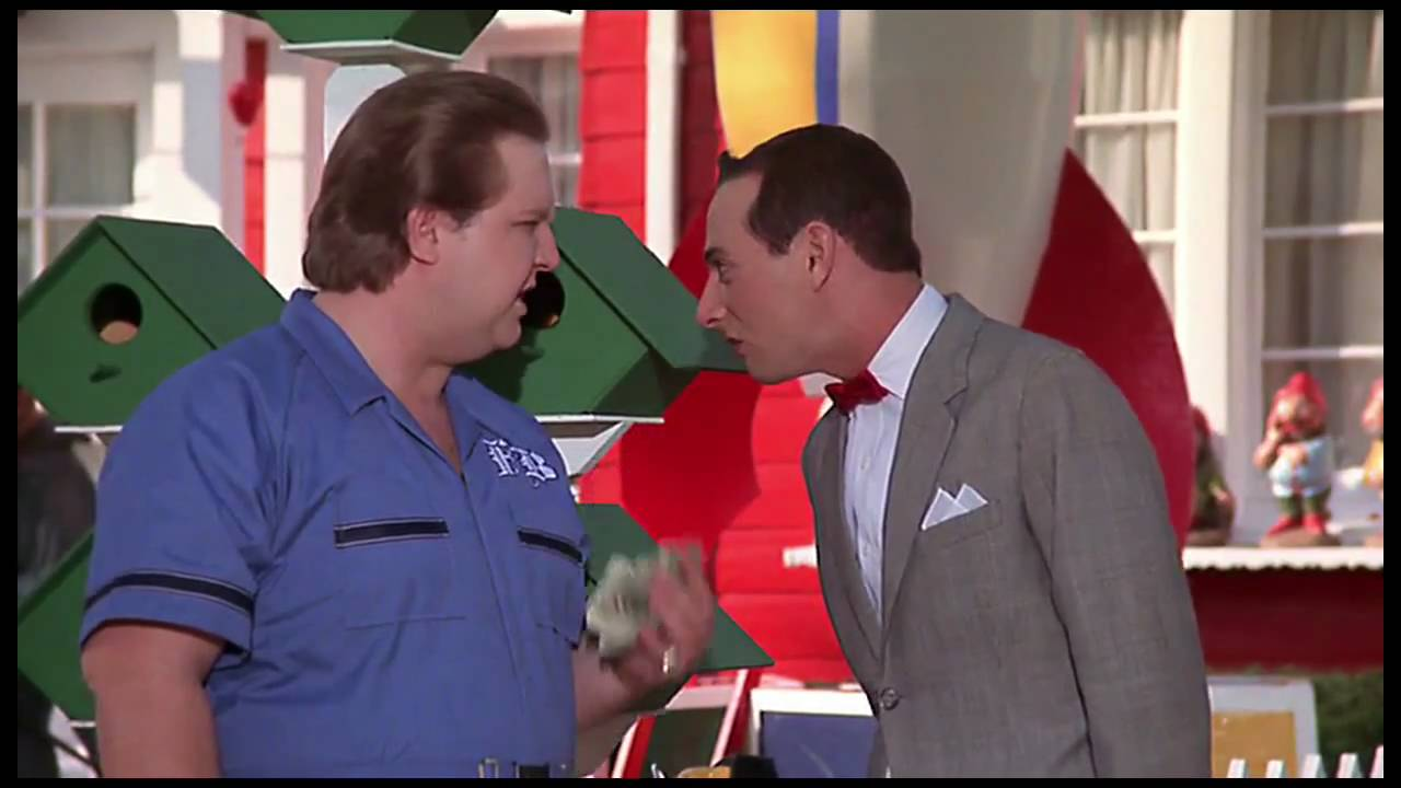 Pee wee hamburger train clip