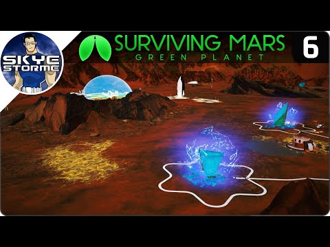 AUTOMATED TOURISM! - Surviving Mars Green Planet EP 6 - Gameplay & Tips