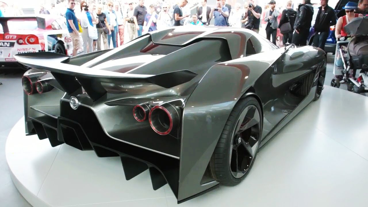 World premiere Nissan Concept 2020 Vision Gran Turismo at Goodwood ...