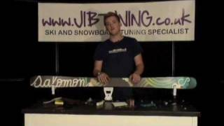 Volume 4, JIBTUNING Ski and Snowboard Waxing Tutorial