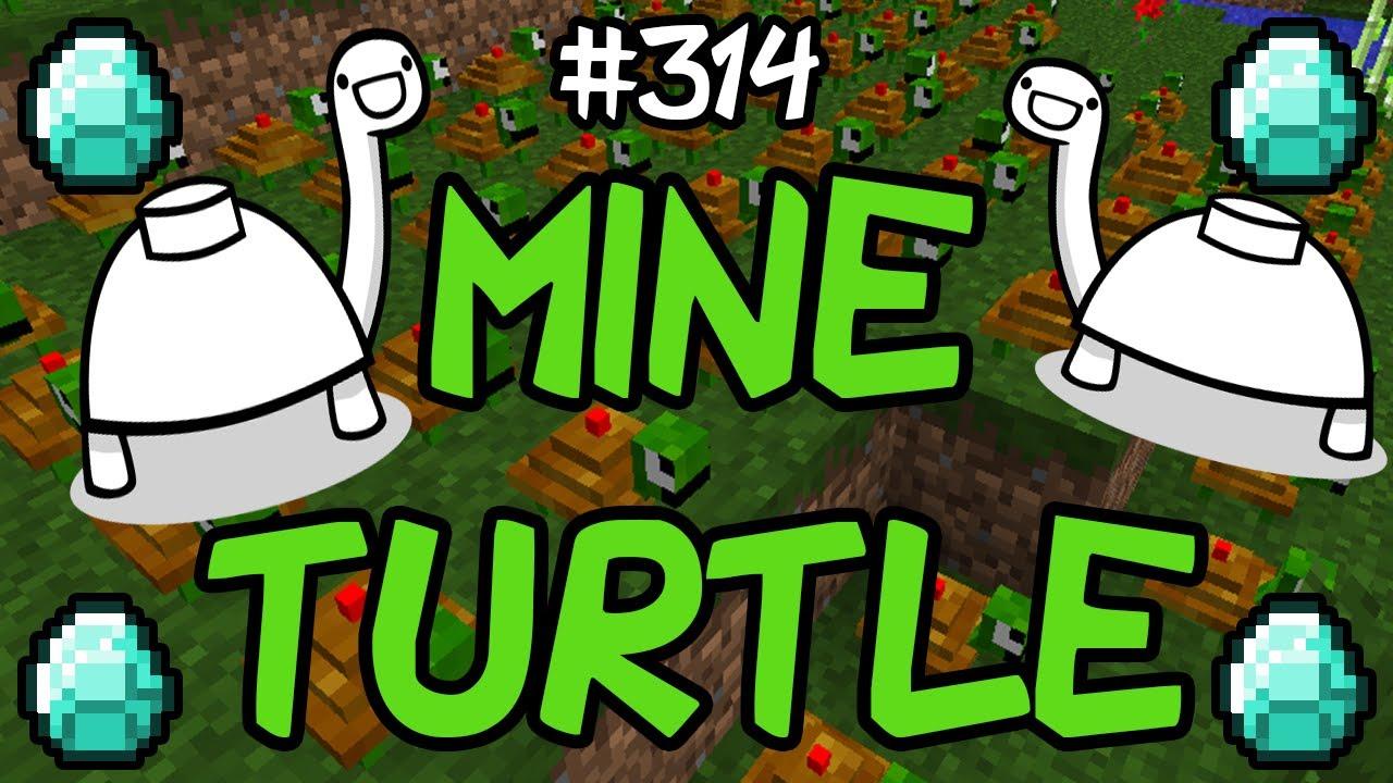 Minecraft Mods – MINE TURTLE MOD!