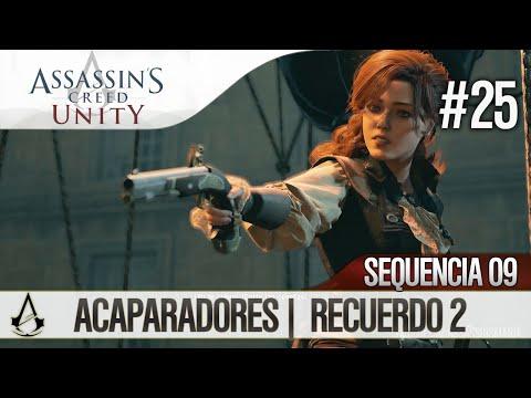 Assassin's Creed Unity   Guía en Español Walkthrough   Secuencia 9   Acaparadores  2  100%