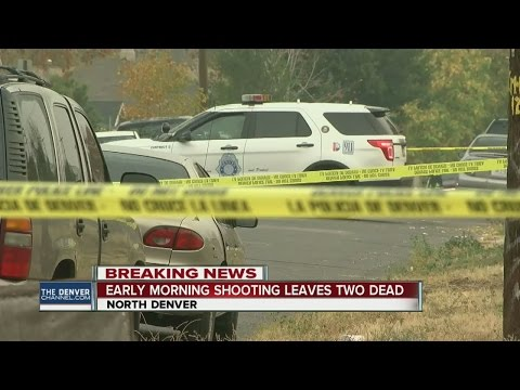 Early morning shooting leaves 2 dead in North Denver