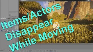 How to Make Items or Actors Disappear/Reappear While Camera is Moving - Minecraft Machinima Tutorial