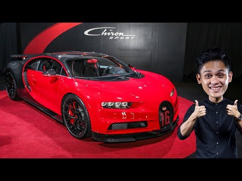 FIRST LOOK: Bugatti Chiron Sport in Malaysia - RM12.5 million