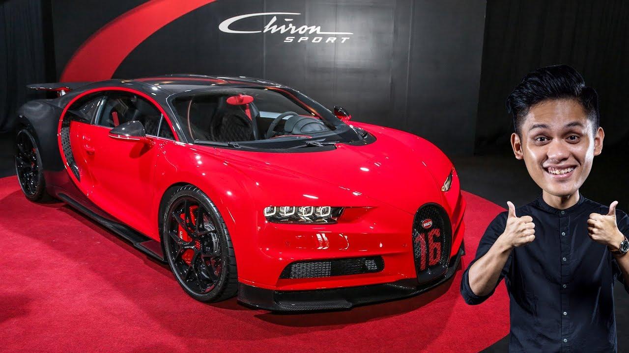 First Look Bugatti Chiron Sport In Malaysia Rm12 5 Million Youtube