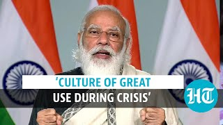 'Culture acts as emotional recharge during crisis': PM Modi on Mann Ki Baat