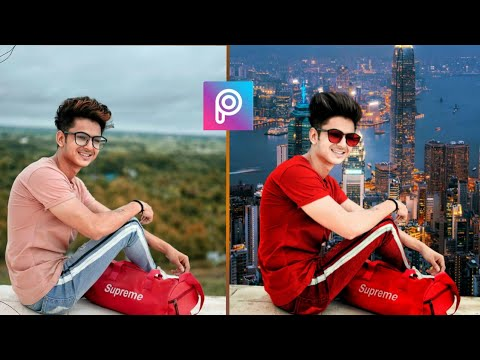 PicsArt Background change Photo Editing | Background Change in Android mobile | Ms Editing