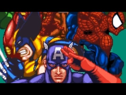 Marvel Super Heroes In War Of The Gems (SNES) Playthrough - NintendoComplete