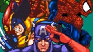 Marvel Super Heroes in War of the Gems (SNES) Playthrough - NintendoComplete