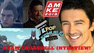 Anime Milwaukee 2018- Adam Croasdell Interview!