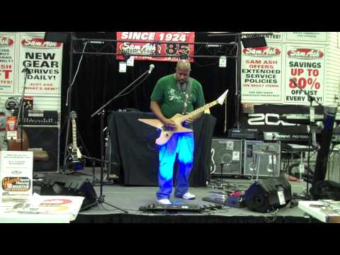 1690 - DaiTribe | guitar solo - at Sam Ash Music in Tampa, FL
