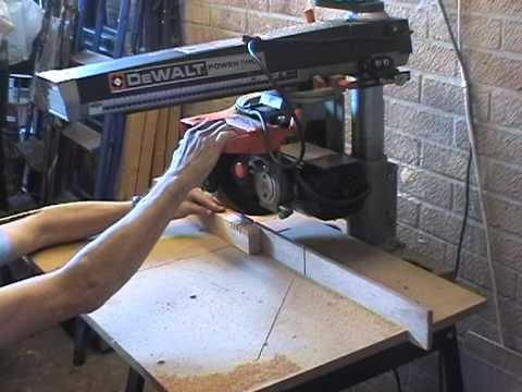 Dewalt 1251 Radial Arm Saw Youtube