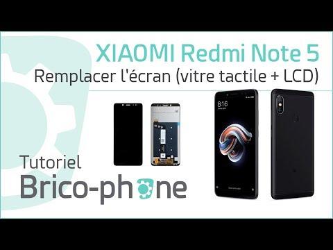 Tutoriel Xiaomi Redmi Note 5 : Remplacer L'écran (vitre + LCD)