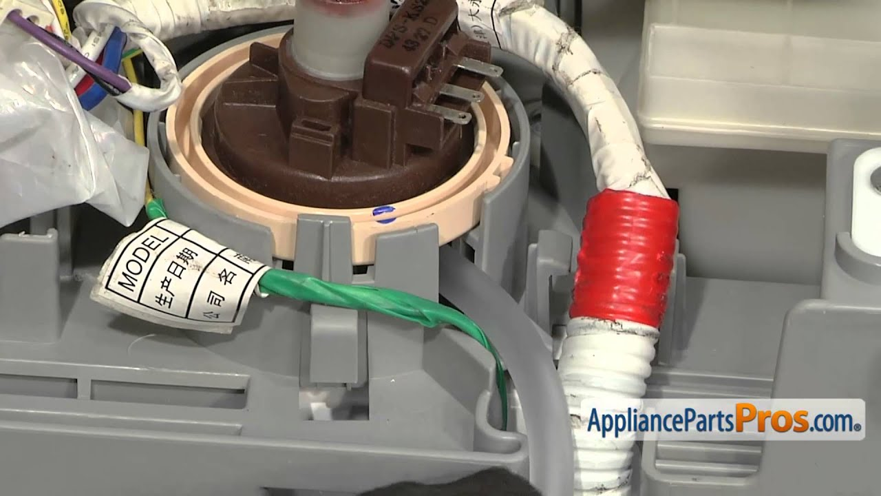 small resolution of washer water level pressure switch part dc96 01703c how to replace