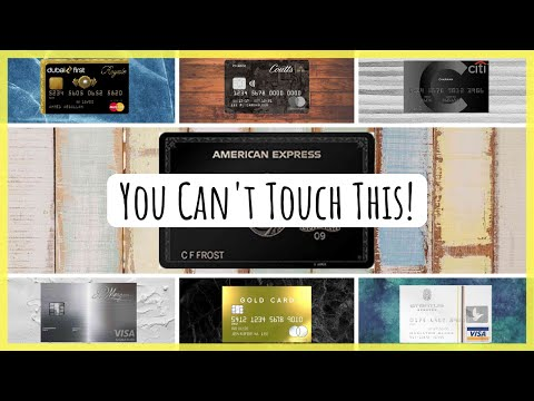 7 Most Exclusive Credit Cards For The Rich & Famous (or Those Aspiring To Be)   Are They Worth It?