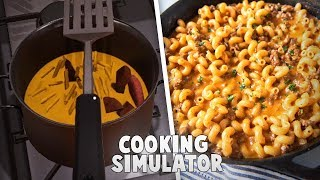 Cooking My Favorite Meal On Cooking Simulator!
