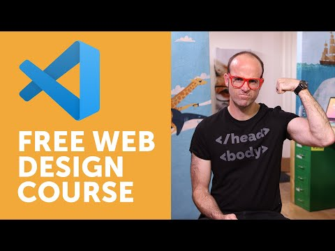 Free Course: Beginner Web Design Using HTML5, CSS3 & Visual Studio Code