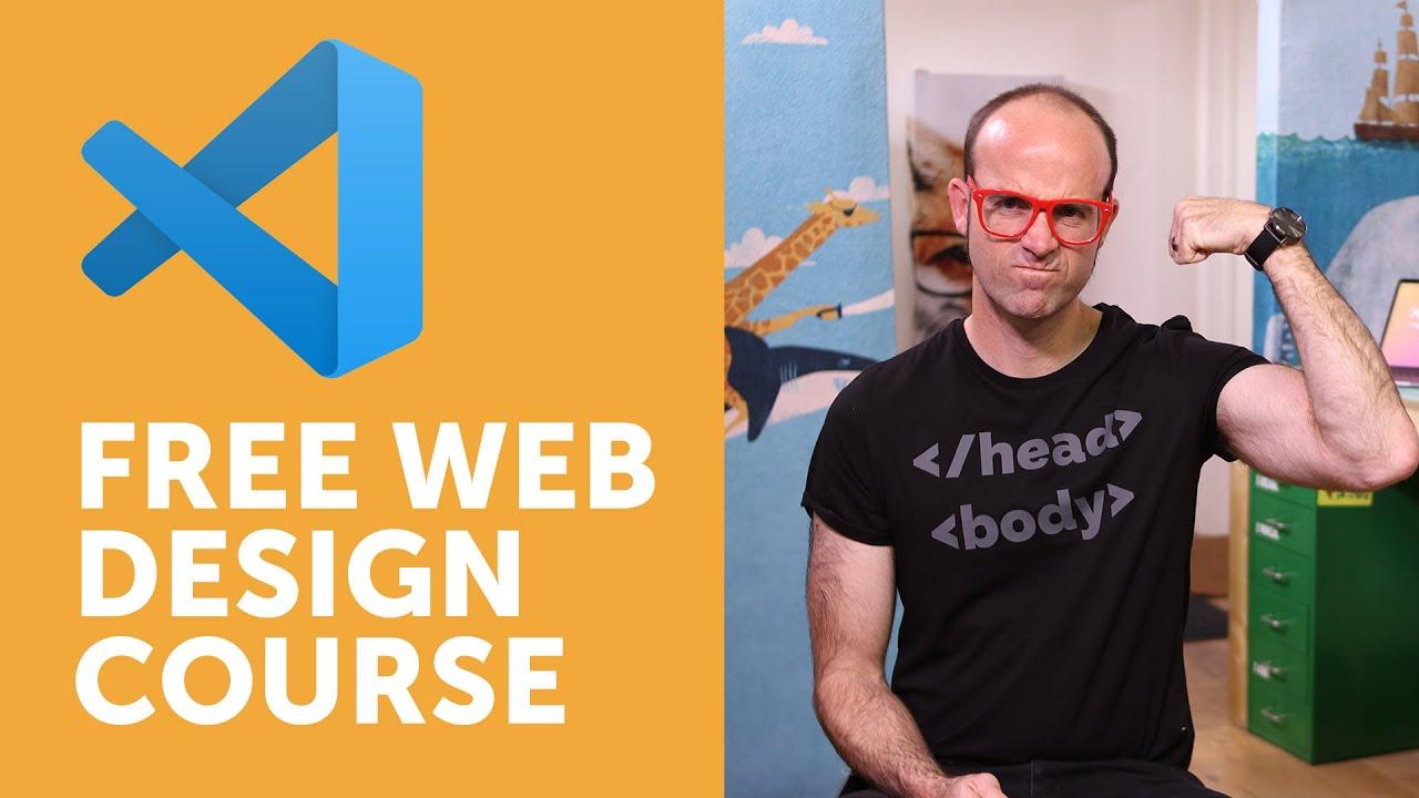 Free Course Beginner Web Design Using Html5 Css3 Visual Studio Code Youtube