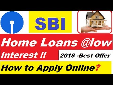 SBI Home Loans Offer 2018 | How to Apply For SBI Low Interest Home Loans Online