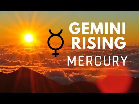 GEMINI RISINGASCENDANT CHART RULER  MERCURY  Hannah's Elsewhere