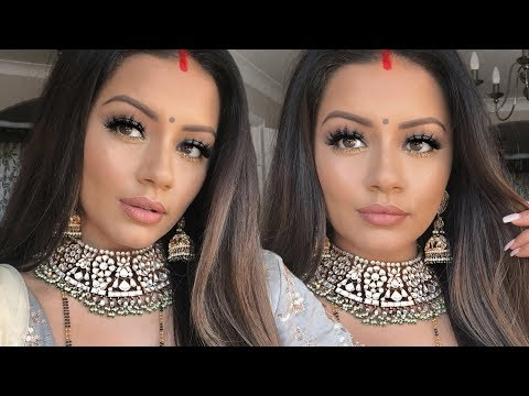 INDIAN WEDDING MAKEUP TUTORIAL | GET READY WITH ME | KAUSHAL BEAUTY
