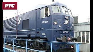Titova lokomotiva Sutjeska ponovo na pruzi