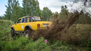 300 HP Lada Niva Goes Test Run and Blows Up the Field