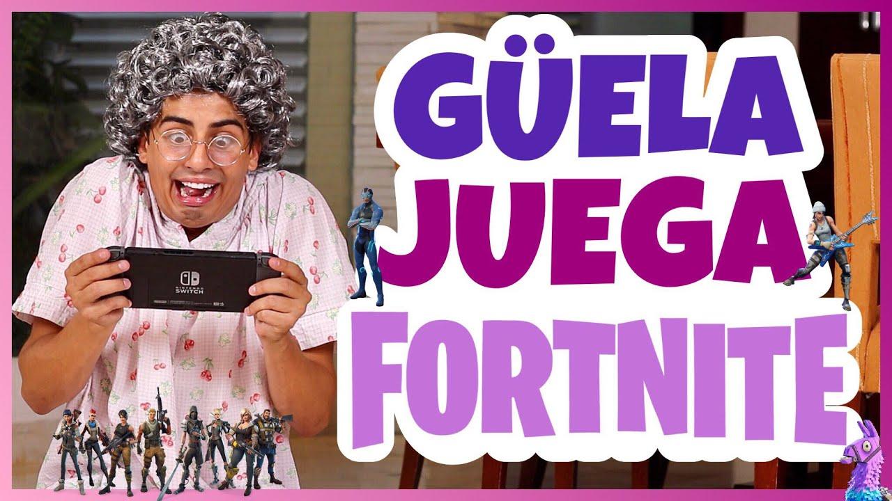 Daniel El Travieso - Güela Juega Fornite.