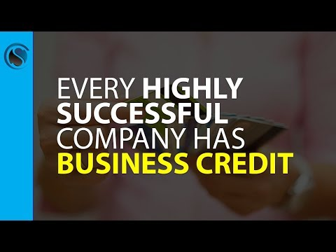 Every Highly Successful Company Has Business Credit