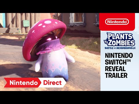 Plants vs. Zombies: Battle for Neighborville Complete Edition – Reveal Trailer – Nintendo Switch