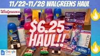 🔥11/22-11/28 Walgreens Haul {EASY MONEYMAKER DEALS} & {Walgreens Couponing This Week 11/22}