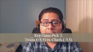 Crazyfrankie's 2016 NFL Four Key Game Picks: Week 15