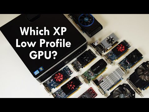 Low Profile Graphics Cards Comparison For Windows XP Retro Gaming On Small Form Factor Pre Built PCs