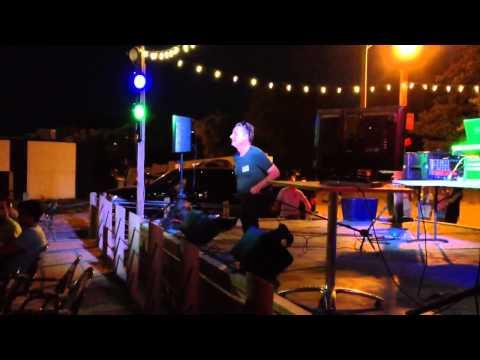 Karaoke at montrose beach