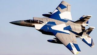 Terrible tension in tнe sky: US F-15 Eagle against Russian Su-35 fighter when Air Force operation
