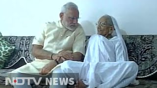PM Narendra Modi in Gujarat on his birthday, meets mother